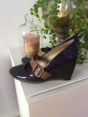 Unisa Wedge Pumps multicolored leather