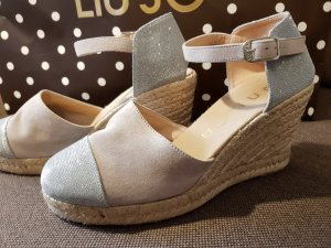 Unisa Wedge Pumps oatmeal leather