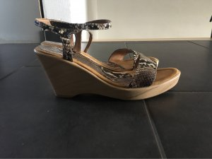 Unisa High Heel Sandal multicolored leather