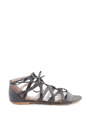 Unisa Mary Jane Ballerinas schwarz Casual-Look