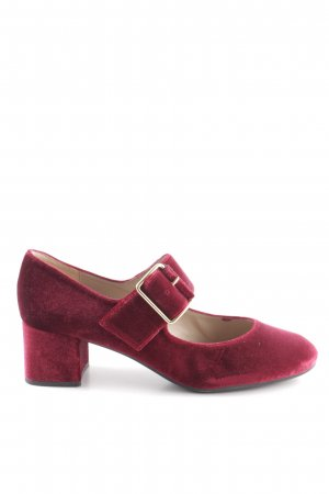 Unisa Mary Jane Pumps bordeaux casual look