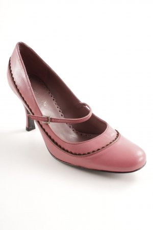Unisa Mary Jane Pumps rosa-schwarz Elegant