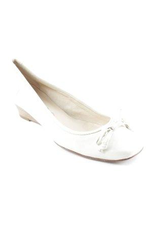 Unisa Peeptoe Ballerinas blassgrün Casual-Look