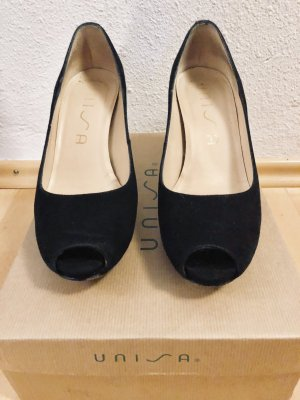 Unisa Peep Toe Pumps zwart