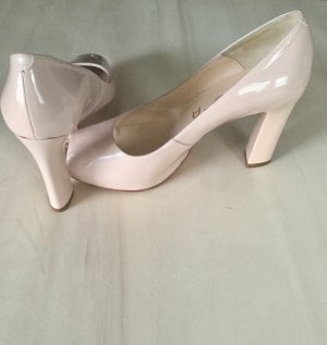 Unisa Peep Toe Pumps light pink-dusky pink leather
