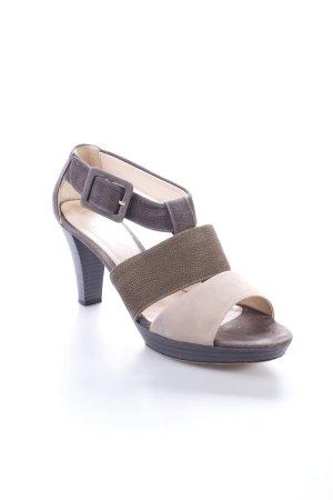 Unisa Plateau-Sandaletten mehrfarbig klassischer Stil