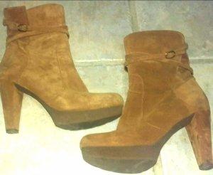 Unisa Plateau Stiefel Boots Stiefeletten boho d.g.