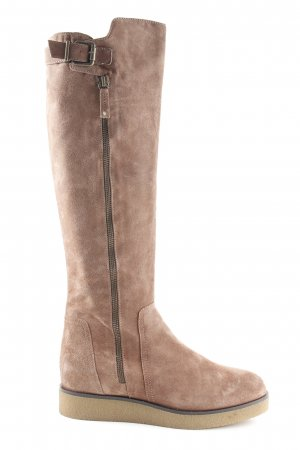 Unisa Platform Boots brown casual look
