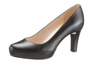 Unisa High Heels black leather