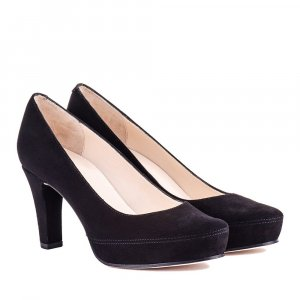 Unisa Pumps Veloursleder
