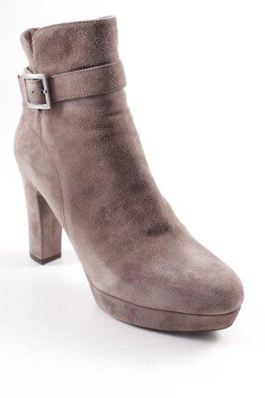 Unisa Reißverschluss-Stiefeletten graubraun Elegant
