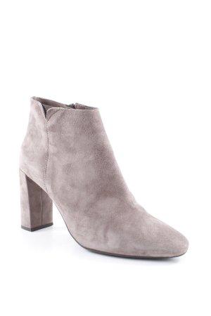 Unisa Reißverschluss-Stiefeletten hellbraun Street-Fashion-Look