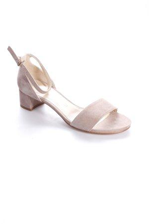Unisa Riemchen-Sandaletten beige klassischer Stil