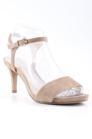 Unisa Riemchen-Sandaletten camel-nude Business-Look
