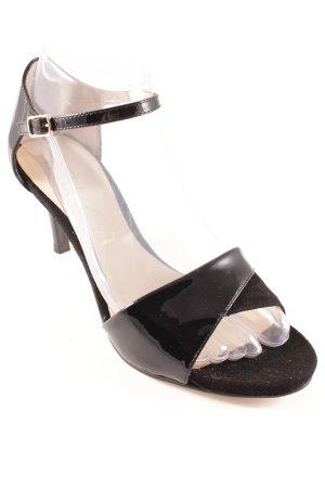 Unisa Strapped High-Heeled Sandals black elegant
