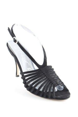 Unisa Riemchen-Sandaletten schwarz Elegant