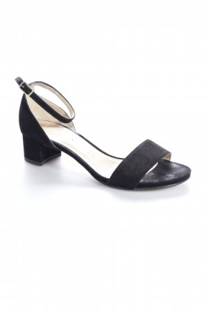 Unisa Strapped High-Heeled Sandals black classic style