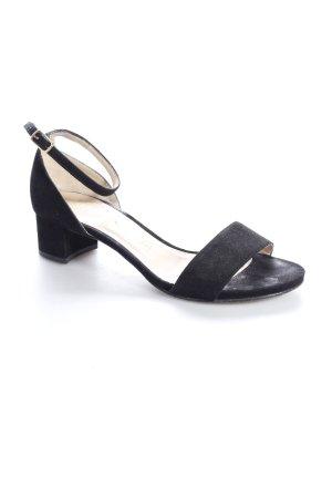 Unisa Riemchen-Sandaletten schwarz klassischer Stil