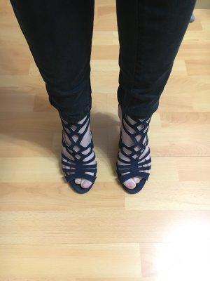 Unisa Sandalias de tiras azul oscuro