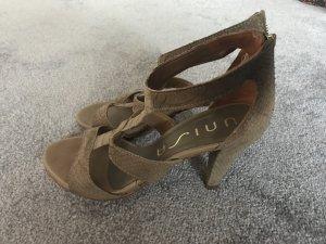 Unisa Sandals gold-colored-beige