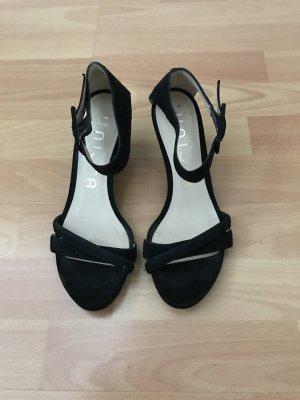 Unisa Sandaletten schwarz Gr. 38 * neuwertig*