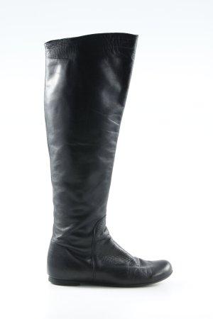Unisa Botas estilo militar negro look casual