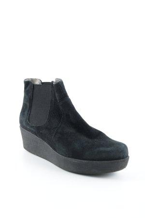 Unisa Zapatos sin cordones negro look casual
