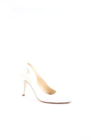 Unisa Slingback-Pumps weiß Elegant