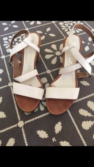 Unisa High-Heeled Sandals white