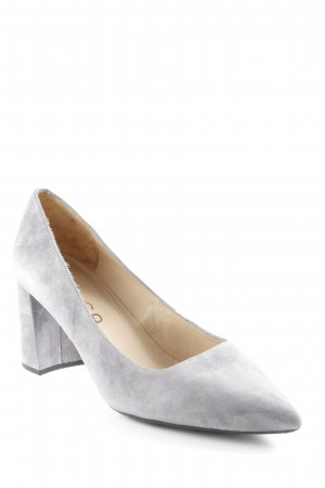 Unisa Pointed Toe Pumps grey business style