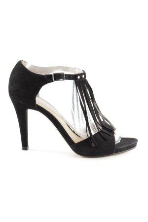 Unisa T-Strap Pumps black elegant