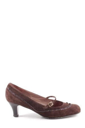 Unisa Loafer marrone look vintage