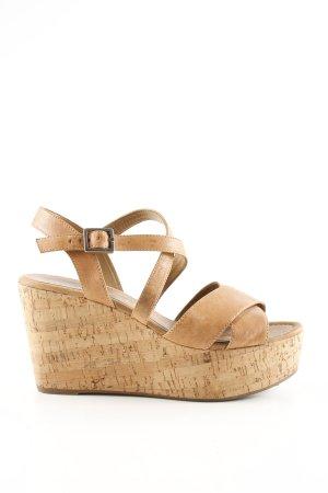 Unisa Wedges Sandaletten nude Casual-Look