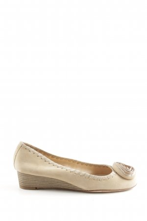 Unisa Wedges Sandaletten wollweiß Casual-Look