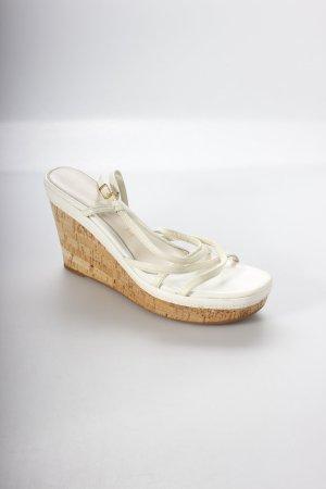 Unisa Wedges Sandaletten hellbeige Nude-Look