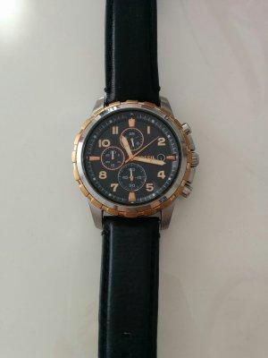 Unisex Fossil Uhr in Leder