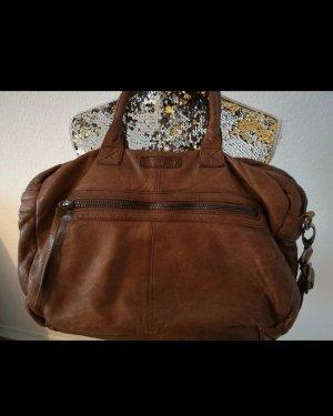 unisex Handtasche Echtleder