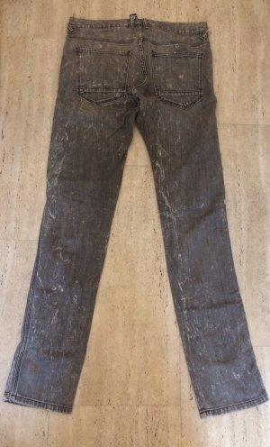 H&M Drainpipe Trousers multicolored