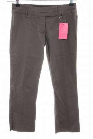 United Colors of Benetton 3/4 Length Trousers grey brown casual look
