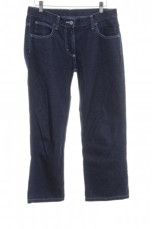 United Colors of Benetton 7/8-jeans donkerblauw casual uitstraling