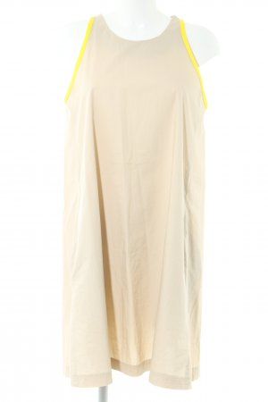United Colors of Benetton A-Linien Kleid creme-blassgelb Casual-Look