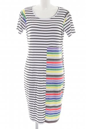 United Colors of Benetton A-Linien Kleid Colourblocking Casual-Look