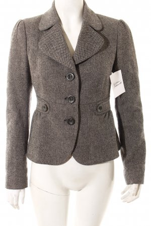 United Colors of Benetton Blazer schwarz-grau Casual-Look