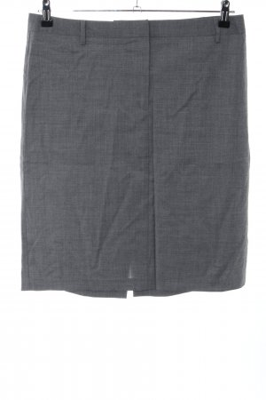 United Colors of Benetton Pencil Skirt light grey flecked business style