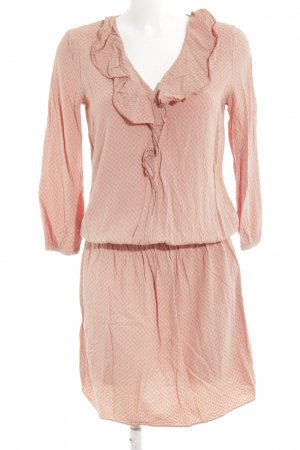 United Colors of Benetton Blusenkleid apricot-lachs Boho-Look