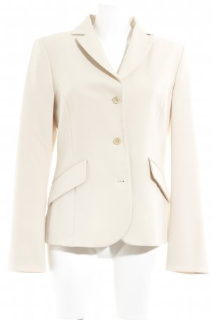 United Colors of Benetton Boyfriend-Blazer creme Elegant