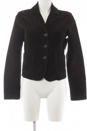 United Colors of Benetton Boyfriend Blazer dark brown casual look