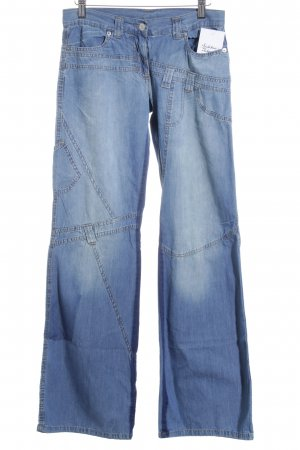 United Colors of Benetton Boyfriendjeans hellblau Farbverlauf Boyfriend-Look
