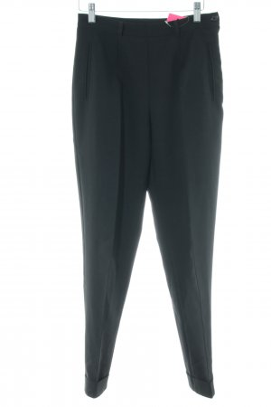 United Colors of Benetton Pleated Trousers black business style