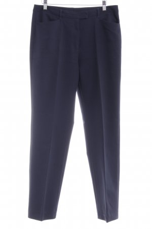 United Colors of Benetton Bundfaltenhose dunkelblau Business-Look